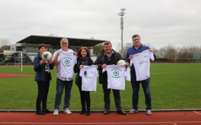 ACTION DE SOLIDARITE INTER ASSOCIATIONS CARQUEFOLIENNES ENTRE  L'UJSA FOOTBALL ET MATERI PAYS DE LA LOIRE